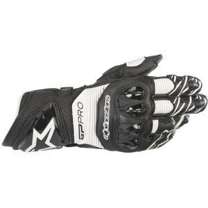 Alpinestars GP PRO R3 Handschuh schwarz / weiß 2XL