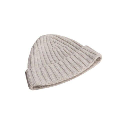 North Outdoor Viklo Beanie - 100% Merino Wool, Porridge Grey