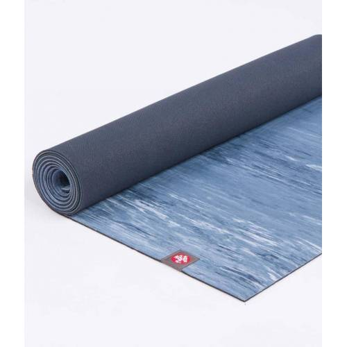Manduka Eko Yoga Mat 6mm - Sustainable Yoga Mat, Ebb Marbled