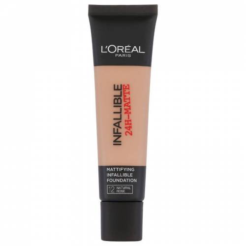 Loreal L'Oreal Infallible 24H Matte Foundation 12 Natural Rose 35ml