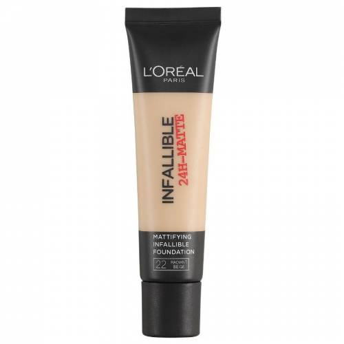 Loreal L'Oreal Infallible 24H Matte Foundation 22 Radiant Beige 35ml