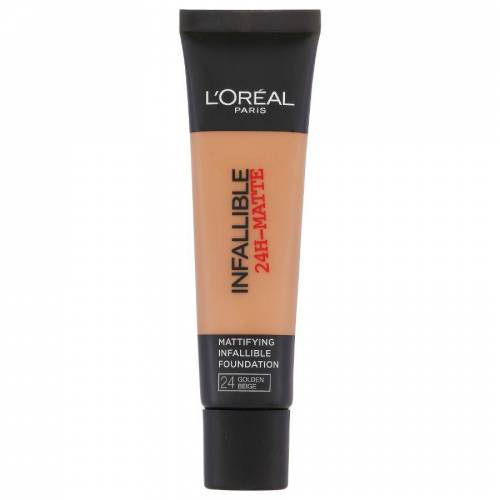 Loreal L'Oreal Infallible 24H Matte Foundation 24 Golden Beige 35ml
