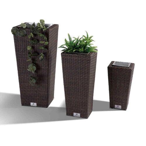 Nikki Garden Pflanzentopf Korfu - Large mixed dunkelbraun