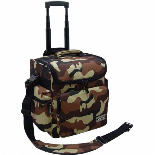 Zomo DJ-Trolley camouflage braun