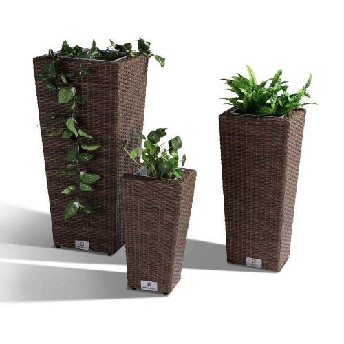 Nikki Garden Pflanzentopf Korfu - Small hellbraun