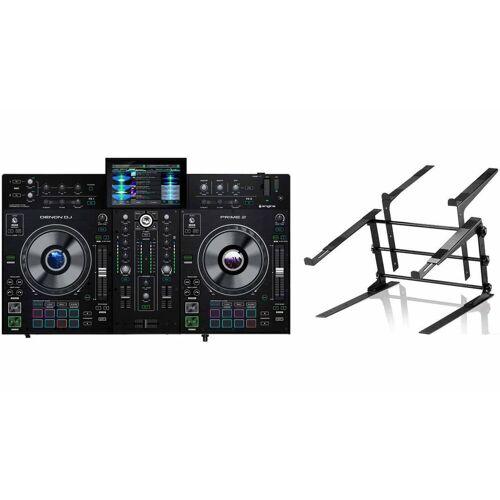 Denon DJ Prime 2 + Controller Stand