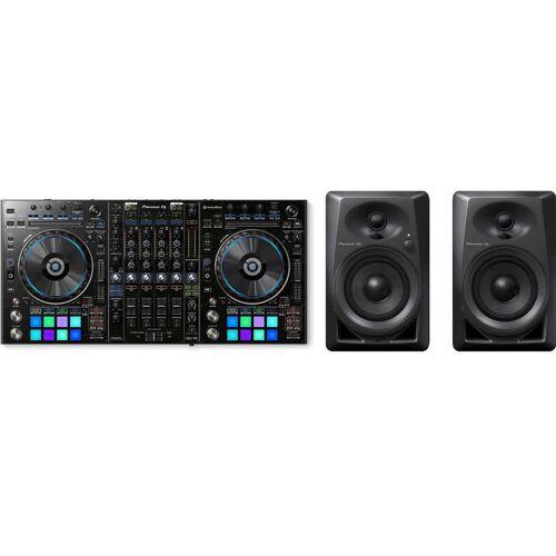 Pioneer DJ DDJ-RZ + Pioneer DM-40