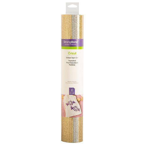CRICUT® Plotterfolie Bügeltransfer 30,5x30,5cm 6tlg.