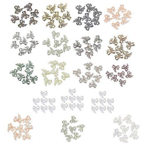 KARIN JITTENMEIER Kristallkunst Schleifen verschiedene Designs 18tlg.