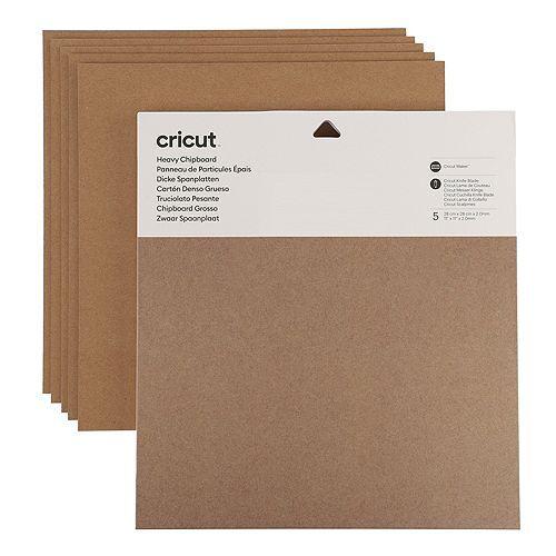 CRICUT® Kreativ-Set 5 Bogen Chipboard 5tlg.