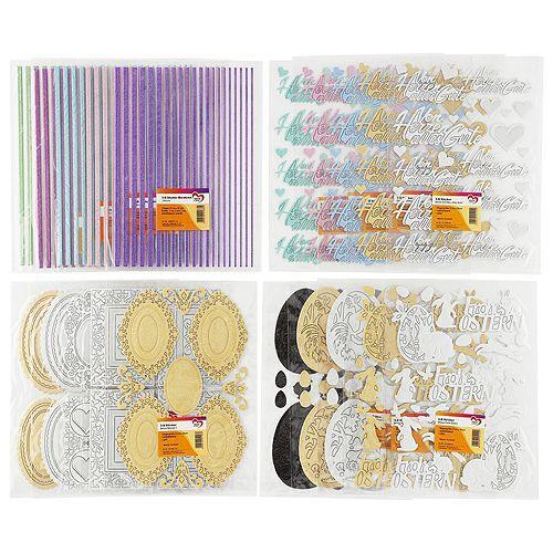 KARIN JITTENMEIER Sticker-Set 3D-Sticker deluxe 20tlg.
