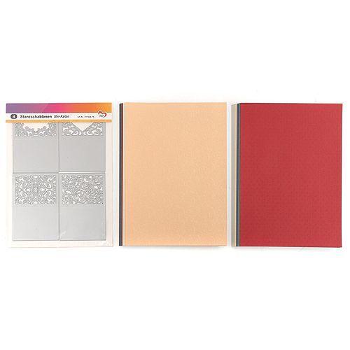 KARIN JITTENMEIER Schablonen-Set Stanzschablonen Grußkarten 64tlg.