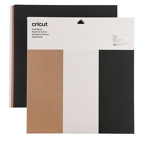 CRICUT® Ergänzungs-Set Kreativpapier Kraftpapier 30tlg.