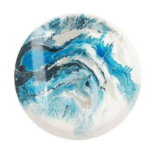 ABELLA Arte Wandbild Kristall kunstvolle Dekoration rund, Ø ca. 60cm