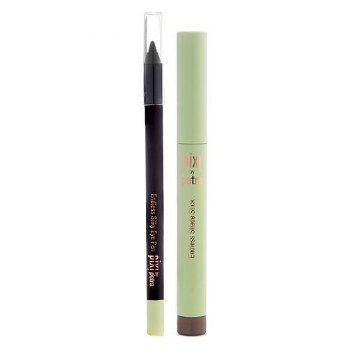 PIXI BEAUTY Endless Lidschatten- Stift 1,5g & Endless Silky Eyeliner 1,2g