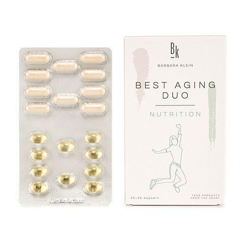 BK by Barbara Klein Best Aging Duo mit DHA, Ginkgo & Vitamin B6 60 Kapseln 30 Tage