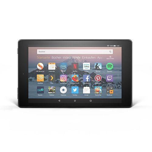 AMAZON Fire HD 8 20,3cm Tablet PC Quad Core Prozessor 32GB, 1,5GB RAM bis zu 12h Akku Fire HD 8