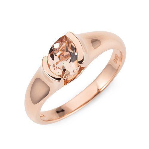 ROYELLE Morganit Ring ca. 0,50ct Roségold 585