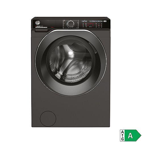 Hoover Waschmaschine 10kg, EEK A ActiveSteam Dampf WiFi & Bluetooth H-WASH500 HWPDQ410AMBCR/-S