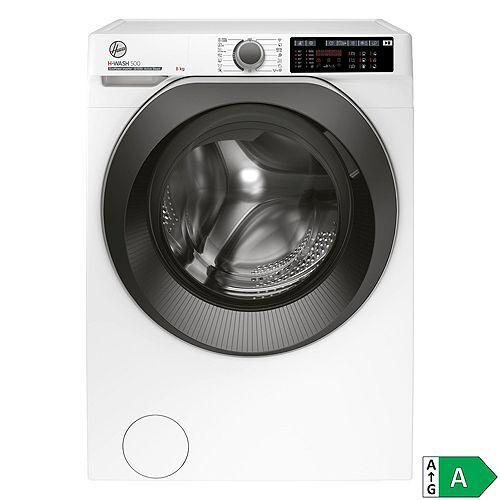 Hoover Waschmaschine 8kg / EEK A ActiveSteam WiFi + Bluetooth H-WASH 500 HWQ 58AMBS/1-S