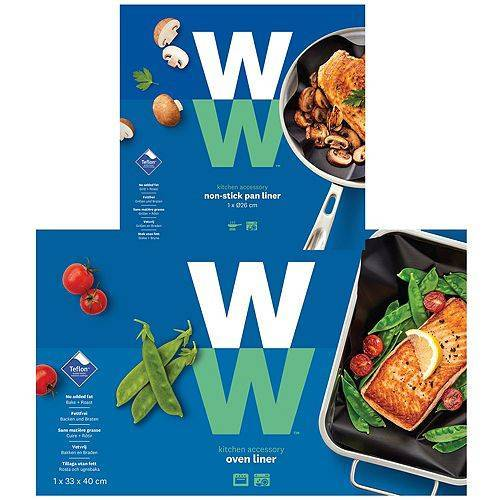 WW® ehemals Weight Watchers Pan Liner Bratfolie & Oven Liner Backfolie
