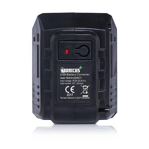 BARICUS USB-Converter inkl. 2 USB- Anschlüsse Baricus-Serie