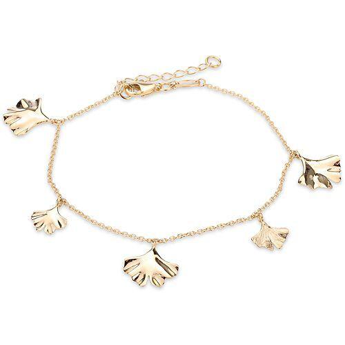 GOLDRAUSCH Armband Ginkgoblätter mindestens 2,5g Gold 585