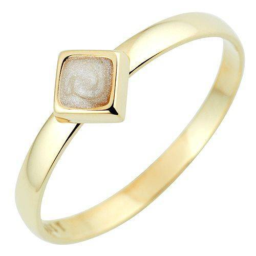 GOLDRAUSCH Ring Emaillelack mind. 1,3g Gold 585