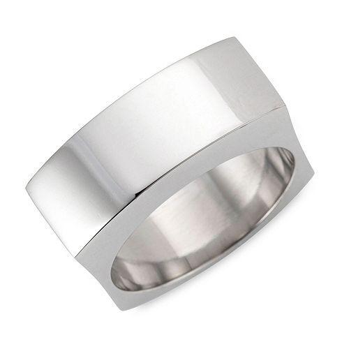 SMYKE Ring poliert Edelstahl