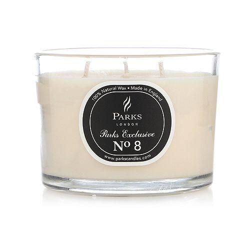 PARKS LONDON 3-Docht-Kerze 350g Duftkerze Duftauswahl Brenndauer ca. 32h