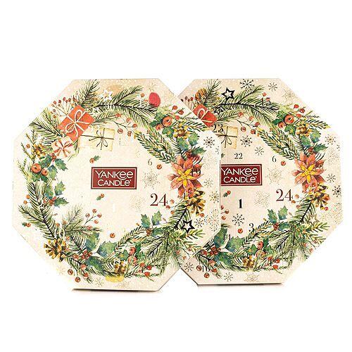 YANKEE CANDLE® Duftkerzen-Set 2 Adventskalender Brenndauer ca. 120h 25tlg.