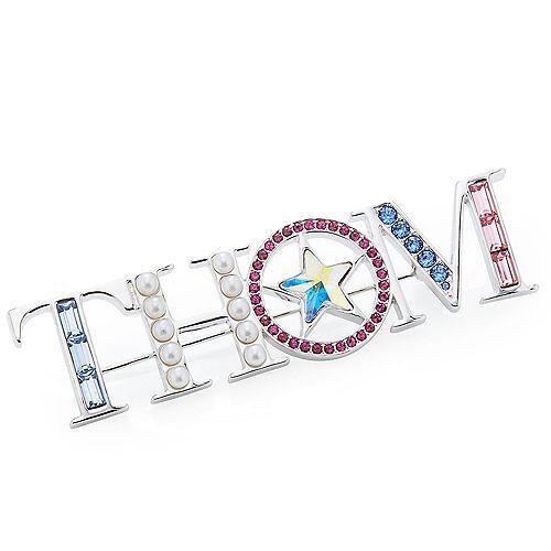 B-Ware THOM by Thomas Rath Designerschmuck Brosche Swarovski® Kristalle