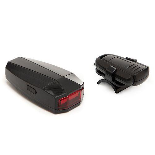 3in1-Anti-Diebstahl- Alarm, Rücklicht & Fahrradschloss mit Fernbedienung 4tlg.