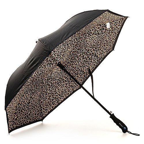 BETTER BRELLA Automatik-Regenschirm Upside/Down-Öffnung sturmfest Länge 81cm, Ø 105cm