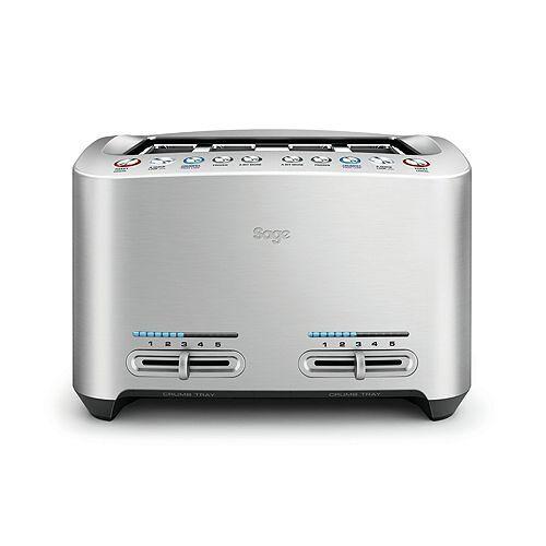 SAGE® Toaster STA 845 4-Scheiben-Funktion LED-Anzeige 1.680 - 2.000 Watt STA 845