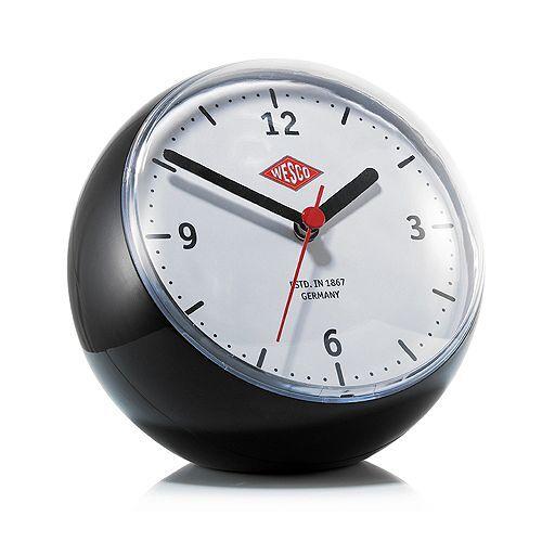 WESCO Mini Clock rund mit eingebautem Timer