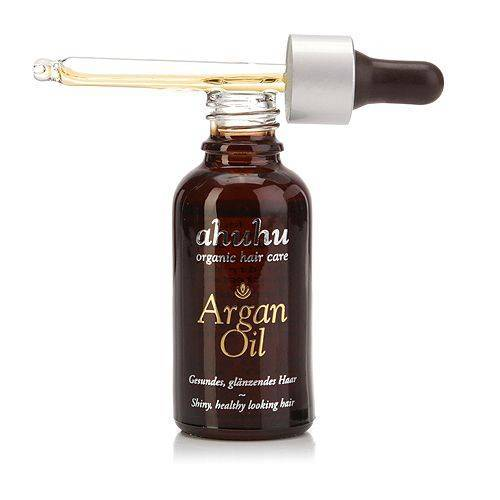 ahuhu organic hair care Argan Öl für glänzendes Haar 30ml