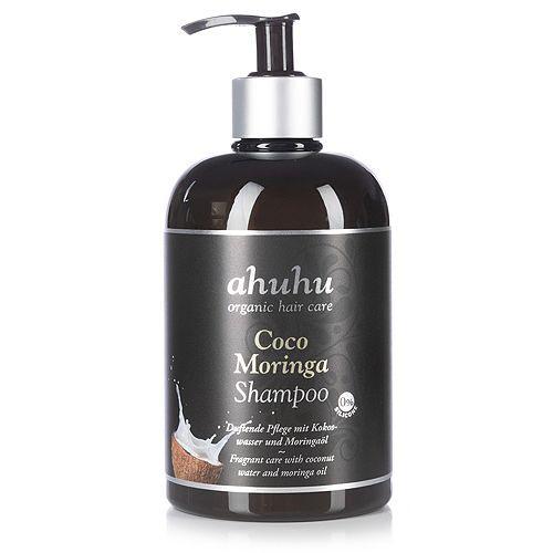 ahuhu organic hair care Coco Moringa Shampoo 500ml