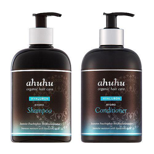 ahuhu organic hair care Hydro Shampoo & Hydro Conditioner je 500ml