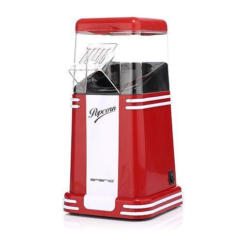 EMERIO Popcornmaschine für 60g Popcorn, inkl. Messbecher, 3-5min Zubereitungszeit