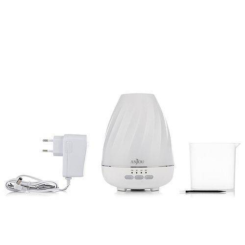 ANJOU Ultrasonic Raumbefeuchter mit Aroma- & Farbwechsel-Funktion
