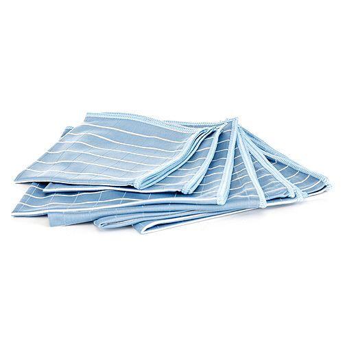 AQUA LASER Windschutzscheibe- Reinigungstücher Bambus 6tlg