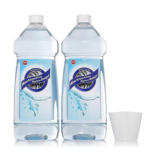 WÄSCHEDUFT Waschmaschinen- Hygiene-Reiniger gegen Bakterien & Gerüche, 2x 1l