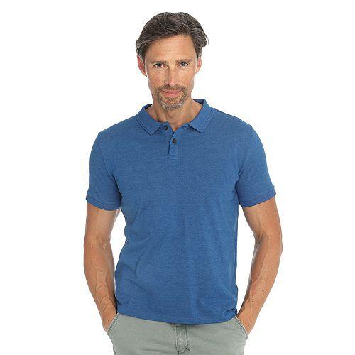 BASEFIELD Pikee-Poloshirt 1/2-Arm geknöpft regular fit