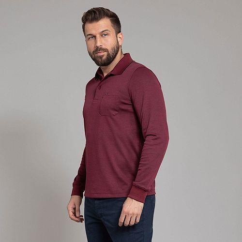 COMMANDER Poloshirt 1/1-Arm Brusttasche regular fit