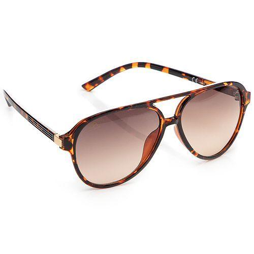 Via MILANO Damen-Sonnenbrille UV Schutzfaktor 400 Schutzbox Reinigungstuch