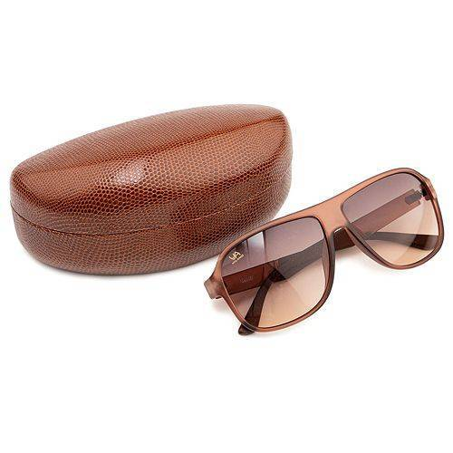 Via MILANO Damen-Sonnenbrille UV-Schutzfaktor 400 Schutzbox Reinigungstuch