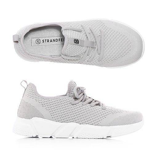 STRANDFEIN Damen-Sneaker Textil Schnürung