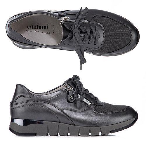 VITAFORM Damen-Sneaker Nappaleder & Vitaform-Stretch Luftpolsterfußbett