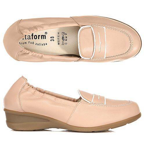 VITAFORM Damen-Slipper Vitaform Stretch Kontrast unterlegt Shock-Absorber